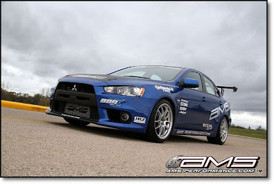 2011 Mitsubishi Lancer Evo X by AMS Performance