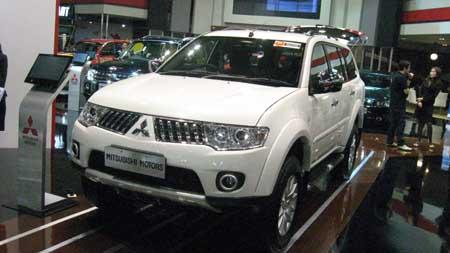 2011 New Generation Mitsubishi Pajero Sport concept