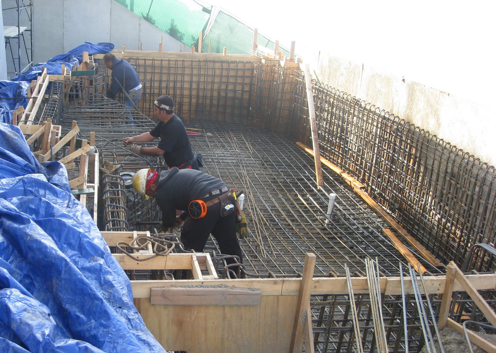 Swimming Pool Reinforcement : Anthony engineering contractors inc project photos
