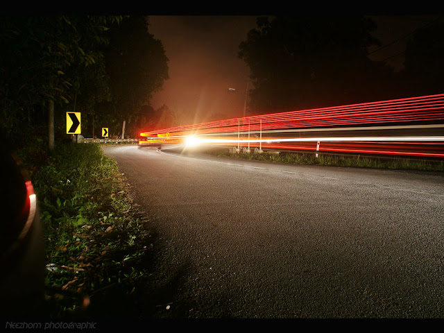 light trails picture