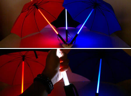 light saber weird umbrella