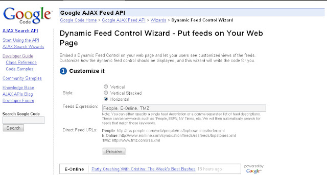 Dynamic Feed Control Wizard picture