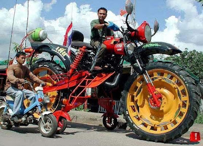 weird and bizarre motorcycle