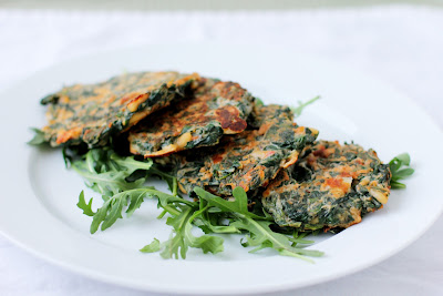 Spinach Feta Fritters