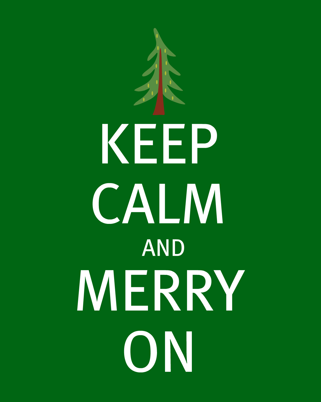 sweet and lovely crafts: Keep Calm and Merry On Printables