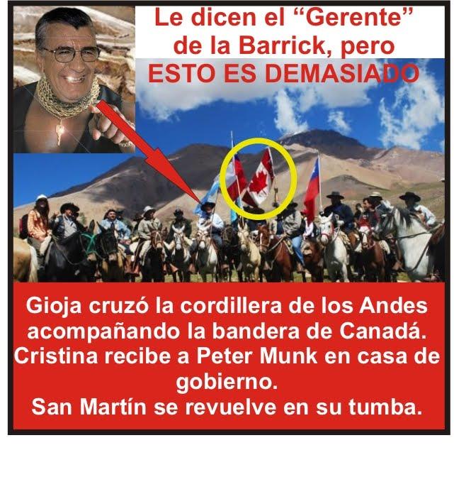SAN MARTIN SE REVUELVE EN SU TUMBA