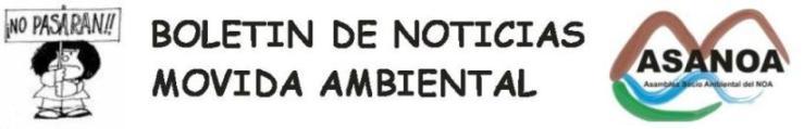 PARA LEER TODAS LAS NOTICIAS SOCIOAMBIENTALES