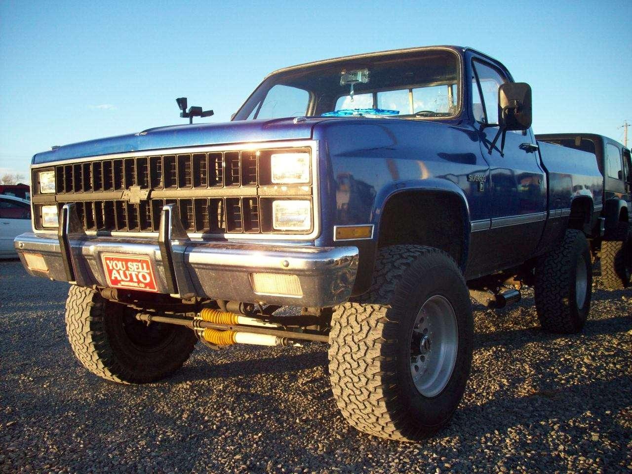 1981 chevrolet k10 silverado 4x4 lifted pickup 7 000
