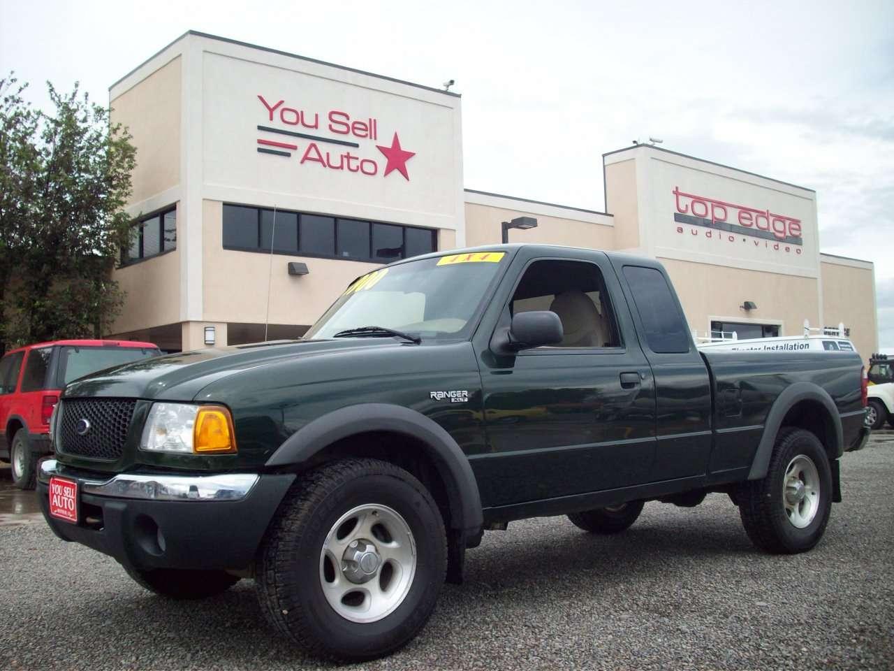 2001 ford ranger xlt 4x4 sold