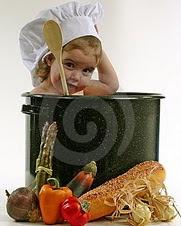 O cozinheiro...
