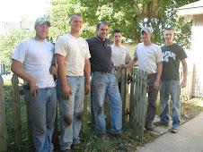 Signature landscaping crew