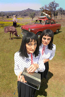 the kransky sisters... that's mourne and eve at the front and dawn in the back hidden behind a french horn