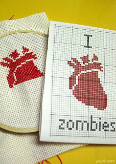 i [anatomically correct heart] zombies