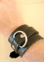 my new bondage cuff