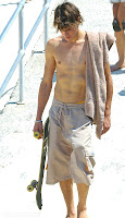 beachside skaterboy