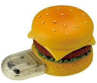it's food and it's also a memory stick... food, memory, what more do you want?
