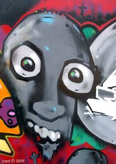 street art zombie
