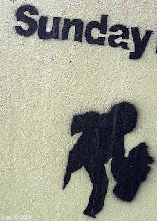sunday spraycan