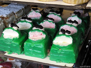 faux frog cakes - ackland street bakery