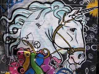 smoking unicorn