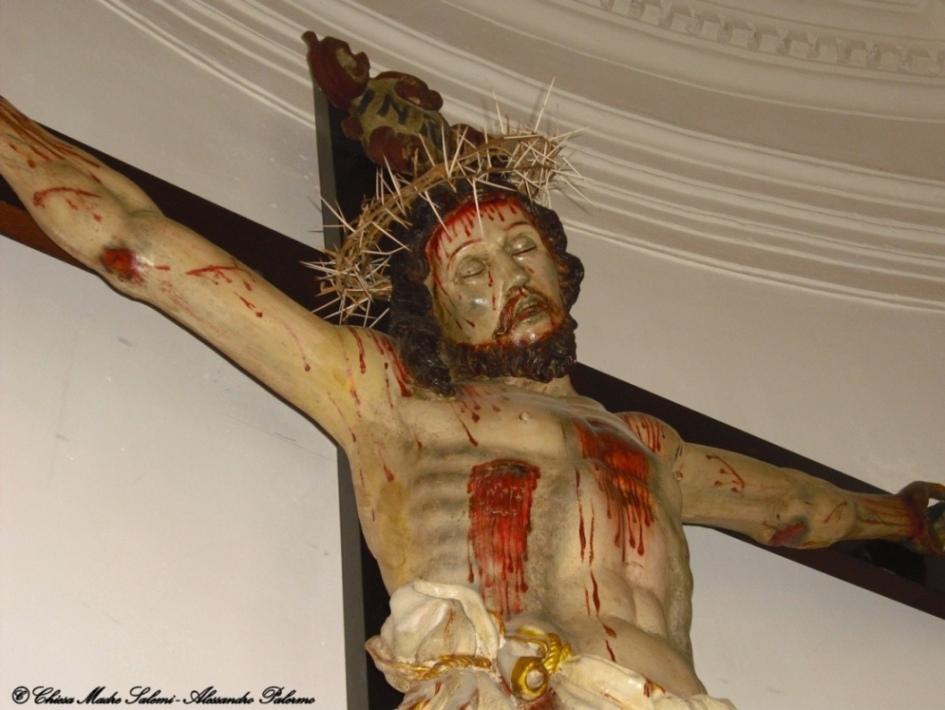 Il Crocifisso dell'Altare Maggiore