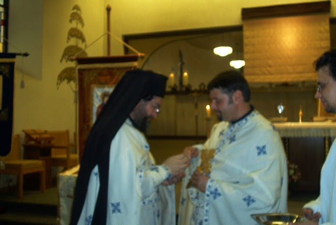 Fr Maximos and Fr Calin