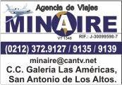 AGENCIA DE VIAJES MINAIRE en Paginas Amarillas tu guia Comercial