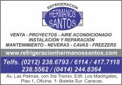 REFRIGERACI�N HERMANOS SANTOS en Paginas Amarillas tu guia Comercial