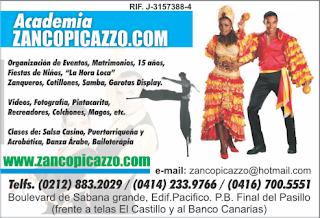 ACADEMIA ZANCOPICAZZO.COM en Paginas Amarillas tu guia Comercial