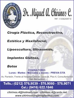 Dr. MIGUEL A CHIRINOS C. en Paginas Amarillas tu guia Comercial