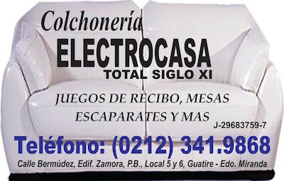 COLCHONERIA ELECTROCASA TOTAL SIGLO XI en Paginas Amarillas tu guia Comercial