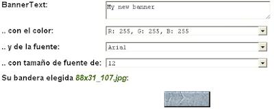 online crear banner