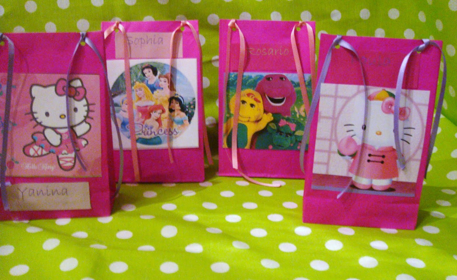 Ver bolsitas para cumpleaños infantiles - Imagui