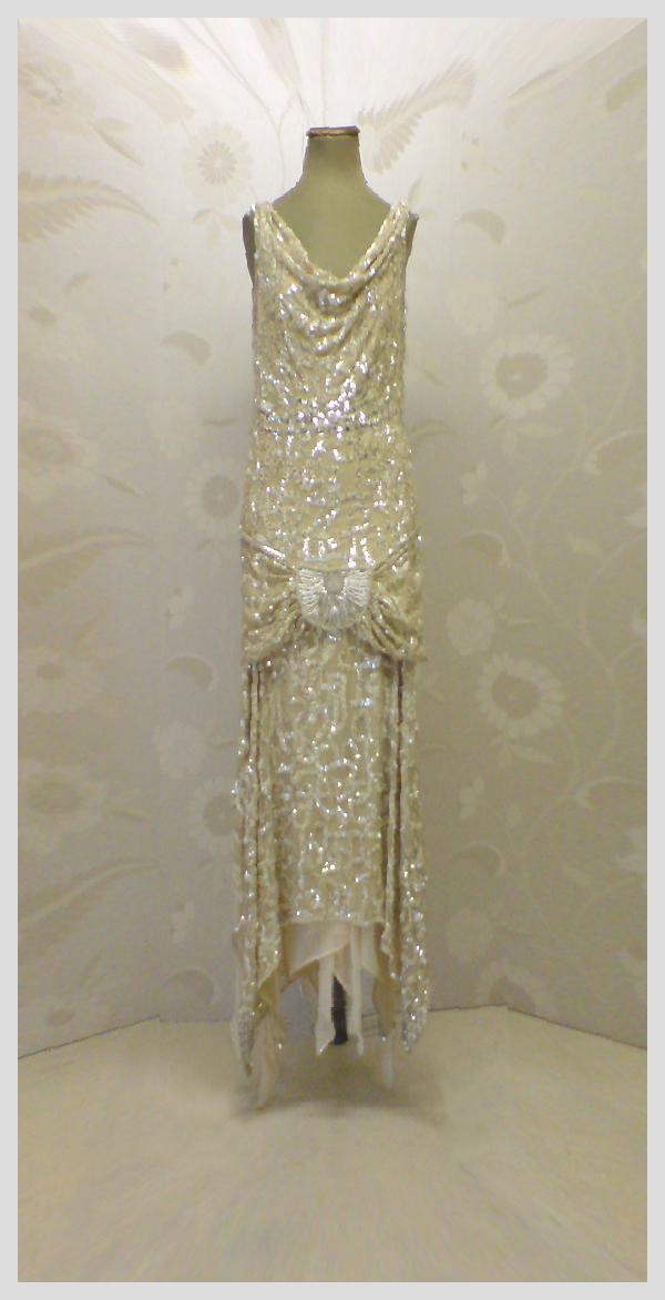 Vintage Wedding Dresses Art Deco : Art deco wedding dress for
