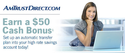 AmtrustDirect's $50 Cash Bonus!