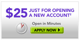 $25 Cash Bonus From Etrade's Complete Savings Account