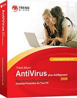 20% off - Trend Micro AntiVirus plus AntiSpyware 2008