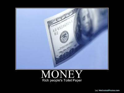 Money Demotivational Poster