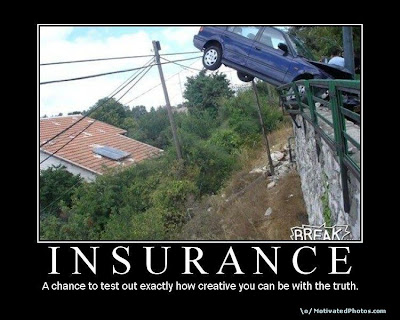 Insurance Demotivational Poster
