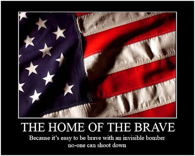 The Home Of The Brave Demotivational Poster