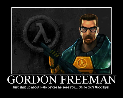 Gordon Freeman Demotivational Poster