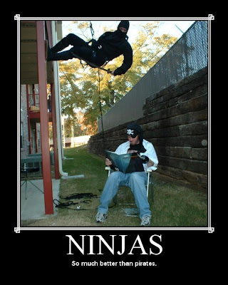 Ninjas Demotivational Poster