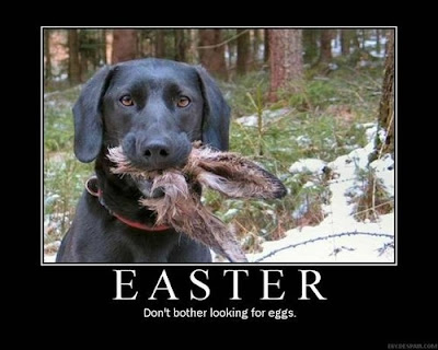 Easter Demotivational Poster