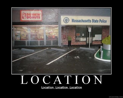 Location Demotivational Poster