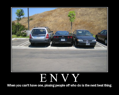 Envy Demotivational Poster