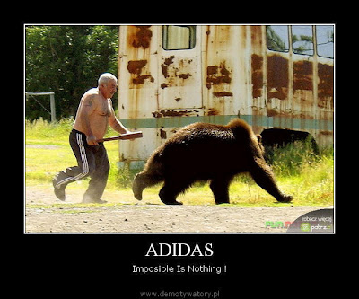 Adidas Demotivational Poster