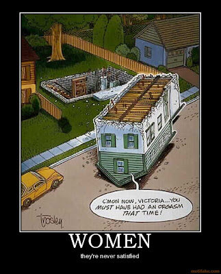 Women Demotivational Poster