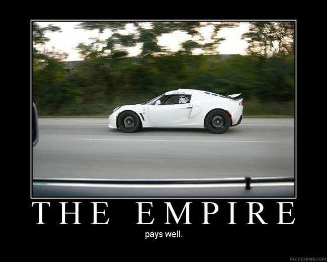 The empire demotivational poster