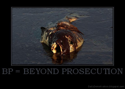 BP = Beyond Prosecution Demotivational Poster