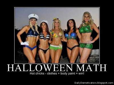 Halloween Math Demotivational Poster